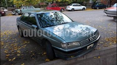 Foto venta Auto usado Peugeot 605 SV 3.0 (1994) color Celeste precio $50.000