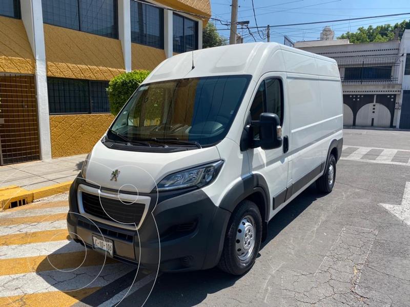 Foto Peugeot Manager 2.2L Furgon Std HDI usado (2018) color Blanco precio $329,900