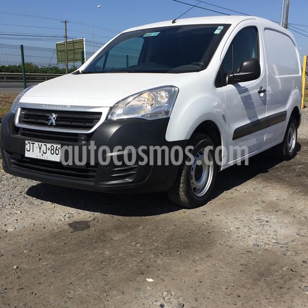 Peugeot Partner Maxi 1.6L Diesel Pack Ac usado (2017) color Blanco precio $8.980.000