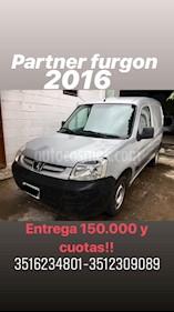 Foto venta Auto usado Peugeot Partner Furgon 1.9 D Confort PLC (2016) color Gris Claro precio $285.000