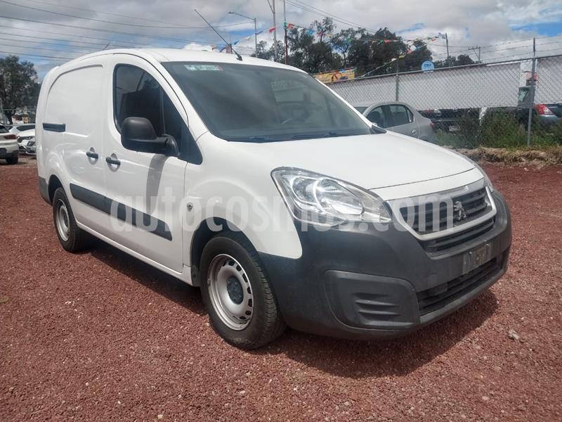 Peugeot Partner 1.6L  usado (2018) color Blanco precio $190,000