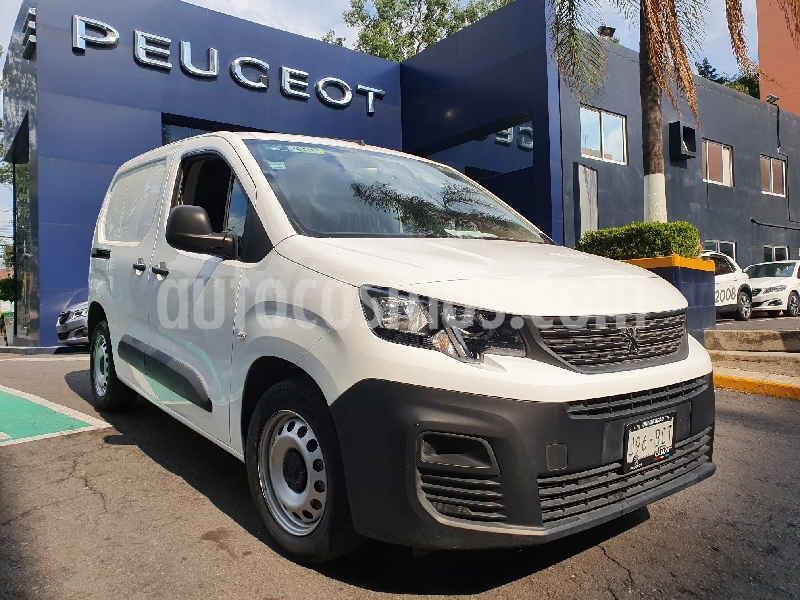 Peugeot Partner 1.6L  usado (2020) color Blanco precio $254,000