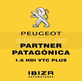 Foto venta Auto usado Peugeot Partner Patagonia 1.6 HDi VTC Plus (2013) color Gris Oscuro precio $3.490.000