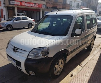 Peugeot Partner Patagonia 1.6 VTC Plus usado (2016) color Blanco precio $850.000