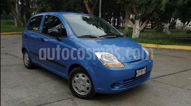 Pontiac Matiz 5p LS L4/1.0 Man A/A usado (2015) color Azul precio $94,000