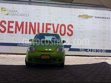 Foto venta Auto usado Pontiac Matiz 5p LS L4/1.0 Man (2015) color Verde precio $85,000