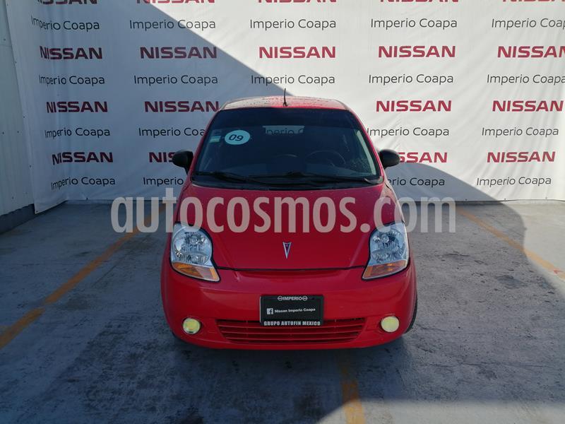 Pontiac Matiz A usado (2009) color Rojo Fuego precio $59,000