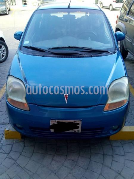 Pontiac Matiz E usado (2006) color Azul precio $35,000