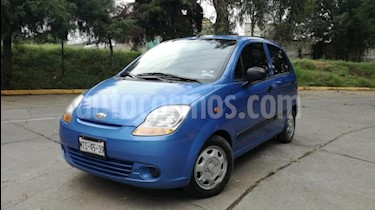 Pontiac Matiz 5P HB LS TM5 A/AC. CD MP3 RELOJ DIGITAL usado (2015) color Azul precio $94,000