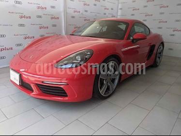 foto Porsche 718 Cayman 2.0L PDK usado (2019) color Rojo precio $1,420,000