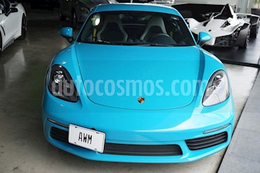 Porsche 718 Cayman S usado (2017) color Azul precio $1,250,000