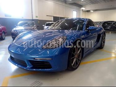 Foto venta Auto usado Porsche 718 Cayman S (2018) color Azul Zafiro precio $1,250,000