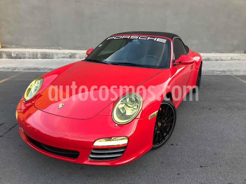 Porsche 911 Carrera 4S Cabriolet PDK usado (2009) color Rojo precio $1,300,000