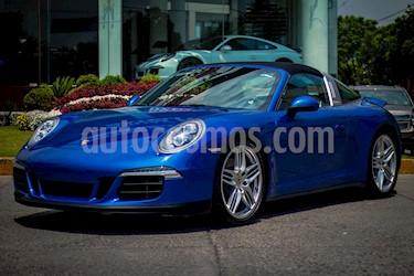 Foto venta Auto usado Porsche 911 Targa 4 PDK (2015) color Azul Aqua precio $1,900,000