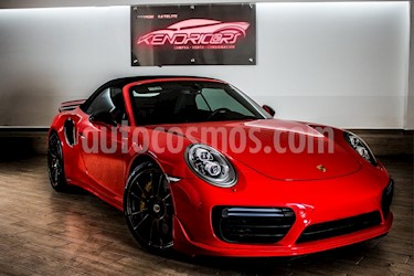 Foto venta Auto usado Porsche 911 Turbo Cabriolet S  (2017) color Rojo precio $3,049,000