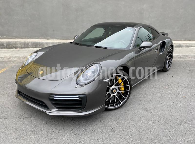 Porsche 911 Turbo Coupe PDK usado (2018) color Gris Oscuro precio $2,550,000