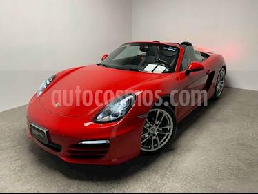 Porsche Boxster 2.7L PDK usado (2014) color Rojo precio $845,000