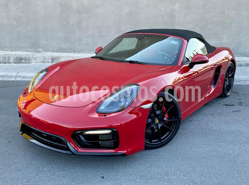 Porsche Boxster GTS 3.4L PDK usado (2016) color Rojo precio $1,180,000