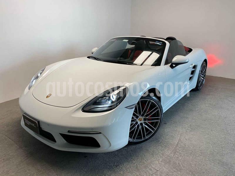 Porsche Boxster S 3.4L PDK usado (2017) color Blanco precio $1,070,000