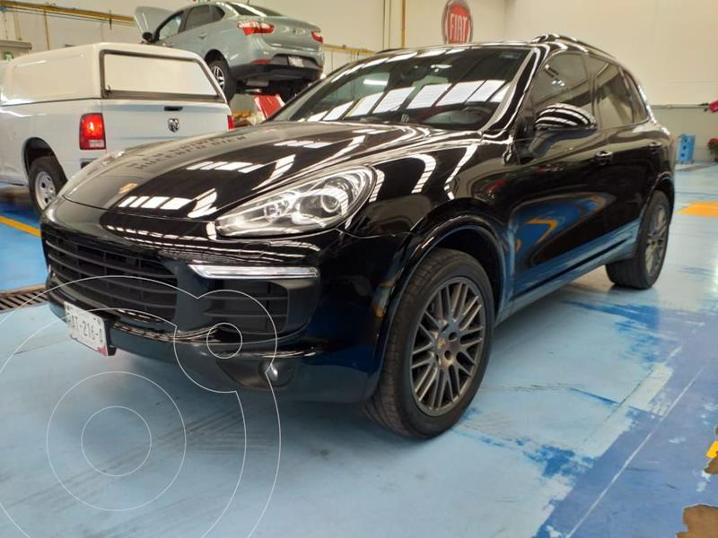 Foto Porsche Cayenne 3.6L Platinum Edition usado (2017) color Negro precio $860,000