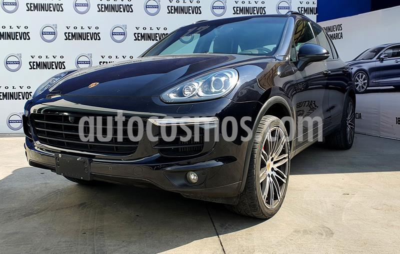 Porsche Cayenne 3.6L usado (2017) color Negro precio $790,000
