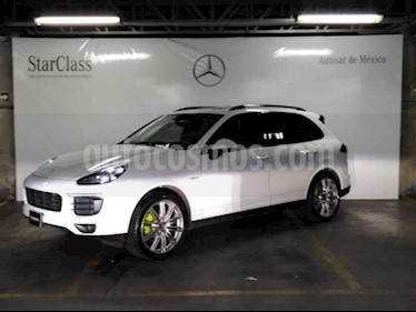 Porsche Cayenne S E Hybrid Paltinum Edition usado (2017) color Blanco precio $1,489,000