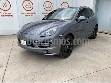 Porsche Cayenne 5p V6 Tiptronic 8v usado (2013) color Gris precio $590,000