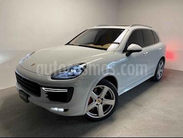 Porsche Cayenne 5p Turbo S V8/4.8/T Tiptronic usado (2017) color Blanco precio $1,410,000