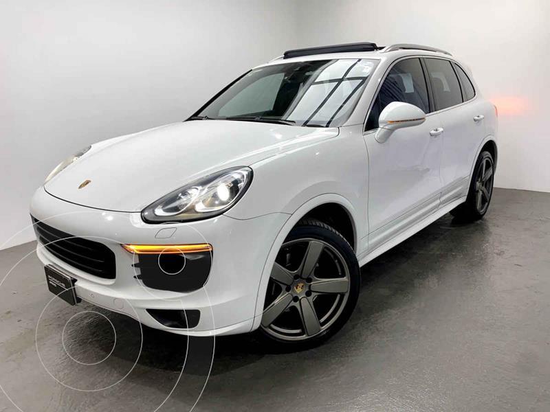 Foto Porsche Cayenne 3.6L Tiptronic usado (2017) color Blanco precio $770,000