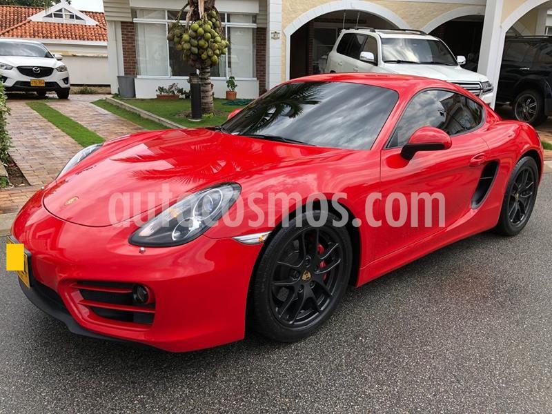 Porsche Cayman GT4 usado (2014) color Rojo Deportivo precio $80.000.000