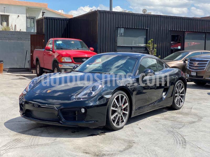 Porsche Cayman S 3.4L PDK usado (2014) color Negro precio $829,800