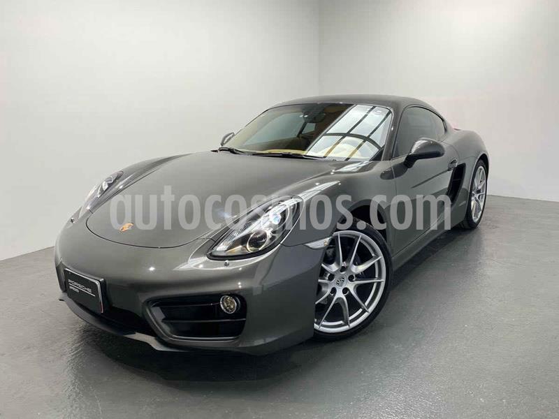 Porsche Cayman 2.7L PDK usado (2014) color Gris precio $800,000