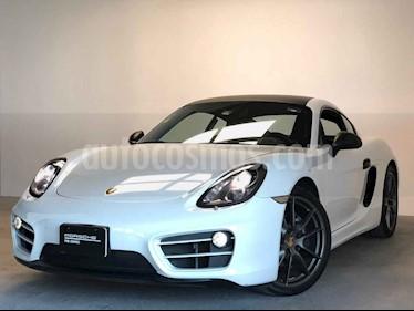 Porsche Cayman 2p H6 2.7 PDK. usado (2014) color Blanco precio $890,000