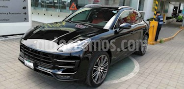 Porsche Macan 5p Macan Turbo Performance V6/3.6/T Aut usado (2018) color Negro precio $1,200,000