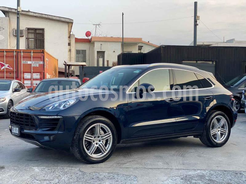 Porsche Macan S usado (2018) color Azul precio $839,800