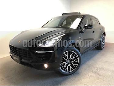 Porsche Macan 5p Macan Diesel V6/3.0 Aut usado (2015) color Negro precio $650,000