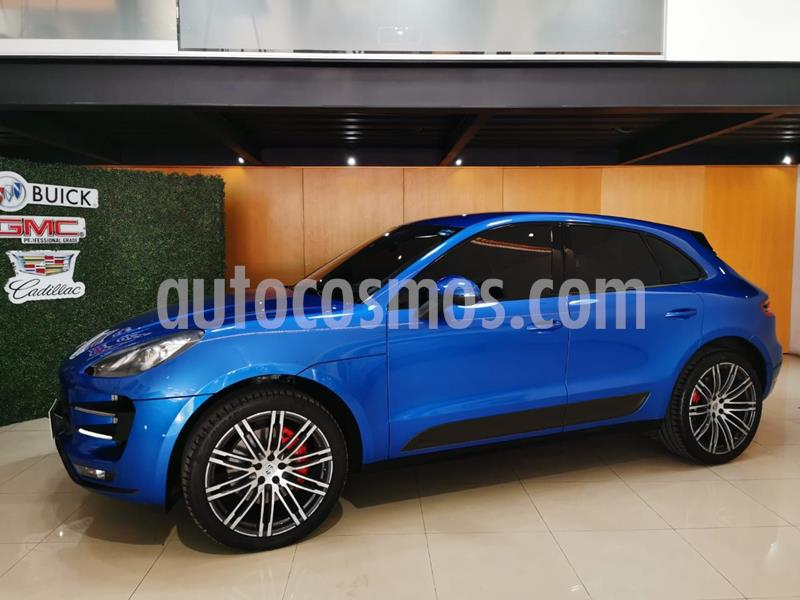Porsche Macan Turbo usado (2015) color Azul precio $719,000