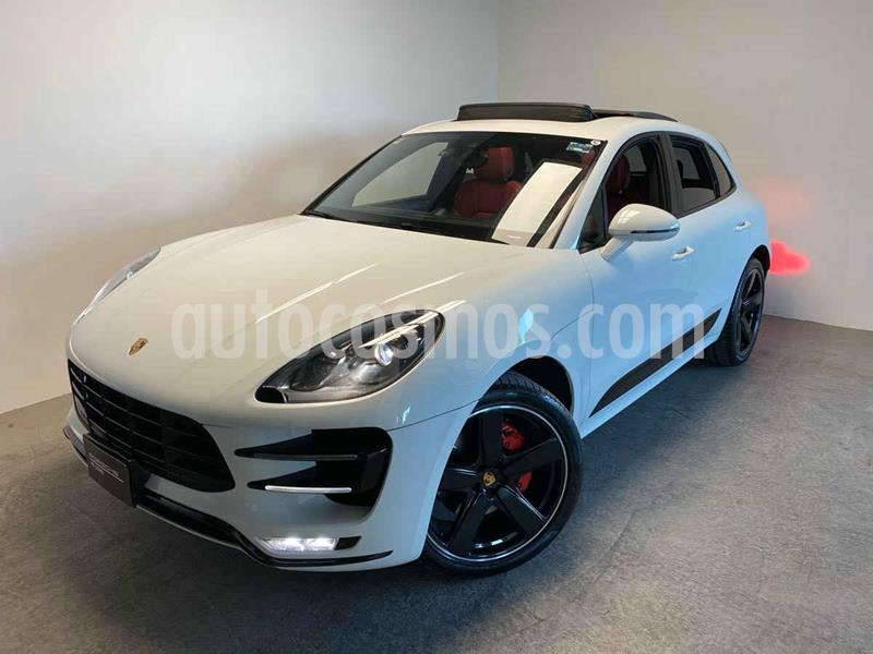 Porsche Macan Turbo usado (2017) color Blanco precio $950,000