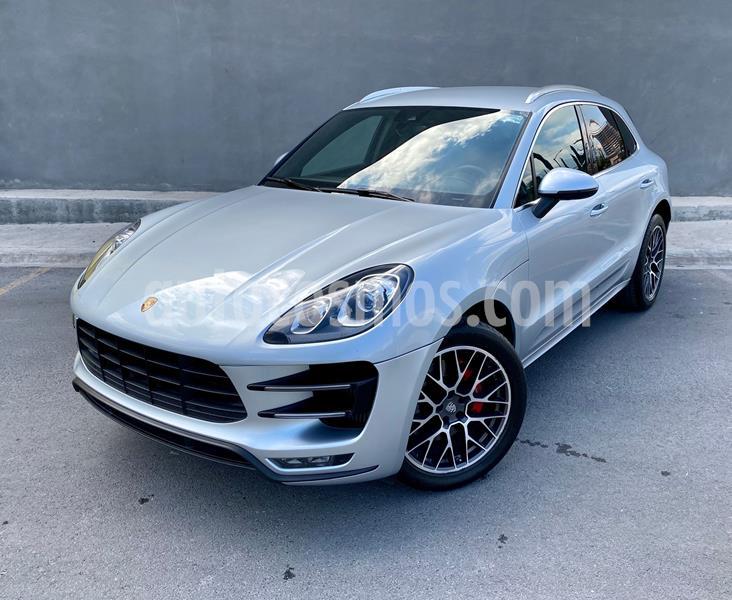Porsche Macan Turbo usado (2016) color Plata Dorado precio $720,000