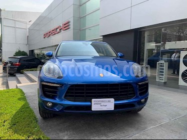 Foto venta Auto usado Porsche Macan S (2017) color Azul precio $845,000