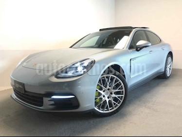 Porsche Panamera 4p 4 Hibrido V6/2.9/T PDK usado (2019) color Plata precio $2,050,000