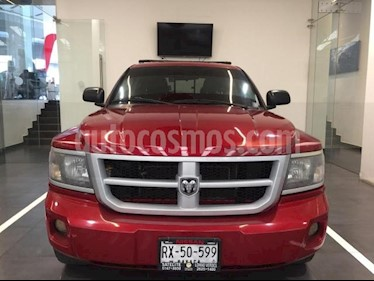RAM Dakota 4P SLT QUAD CAB V6 TA usado (2010) color Rojo precio $155,000
