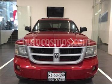 RAM Dakota 4P SLT QUAD CAB V6 TA usado (2010) color Rojo precio $149,000