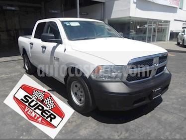 Foto venta Auto usado RAM RAM 4p SLT Crew Cab V6/3.6 Aut 4X2 Trabajo (2017) color Blanco precio $409,000