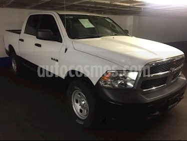 RAM RAM 4p SLT Crew Cab V6/3.6 Aut 4X2 Trabajo usado (2017) color Blanco precio $455,000