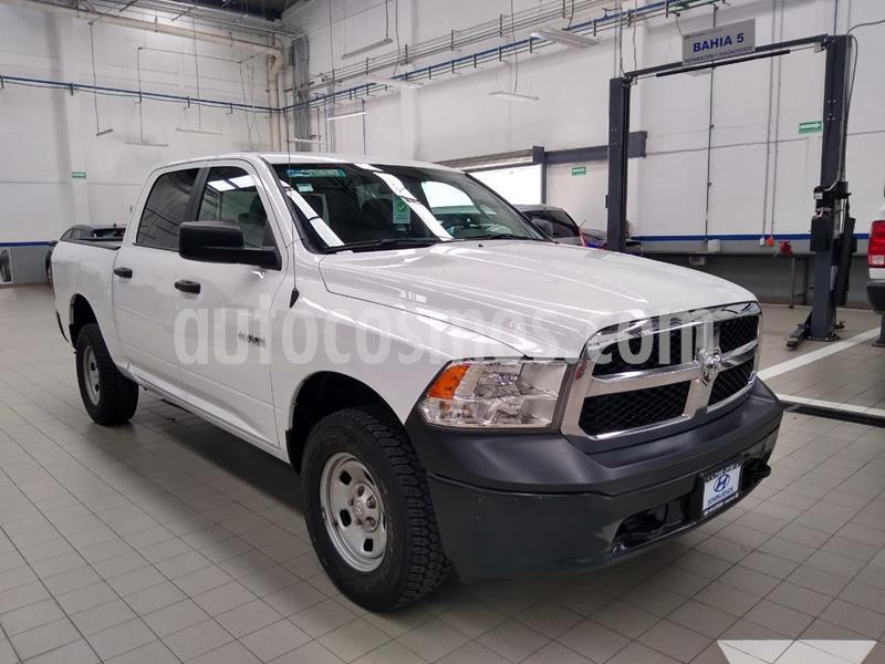 RAM RAM SLT 1500 Crew Cab Trabajo 3.6L Aut 8 vel 4x2 usado (2017) color Blanco precio $385,000