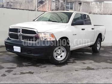 Foto venta Auto usado RAM RAM SLT 1500 Crew Cab Trabajo 3.6L Aut 8 vel 4x4 (2017) color Blanco precio $344,900