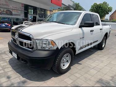 Foto venta Auto usado RAM RAM SLT 1500 Crew Cab Trabajo 3.6L Aut 8 vel 4x4 (2017) color Blanco precio $398,000