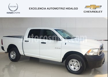 Foto venta Auto usado RAM RAM SLT 1500 Crew Cab Trabajo 3.6L Aut 8 vel 4x4 (2017) color Blanco precio $450,000