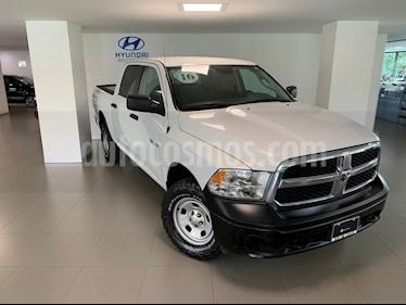 Foto venta Auto usado RAM RAM SLT 1500 Crew Cab Trabajo 3.6L Aut 8 vel 4x4 (2016) color Blanco precio $369,000